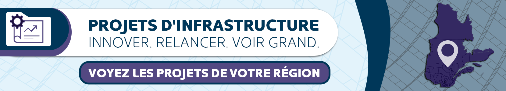 Projets d'infrastructure